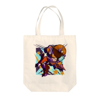 ビリビリポップ Tote bags