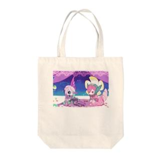 花の夜 Tote bags