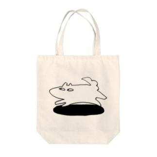 Gilのぴょーん Tote bags