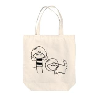 しゅっぱつじゅんび Tote bags