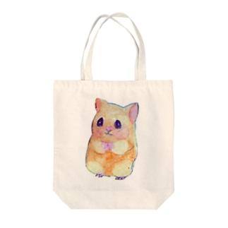ハムスター(トートバッグ) Tote bags