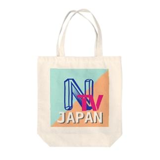 NTV japan Tote bags