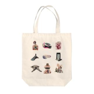 シフゾウ Tote bags