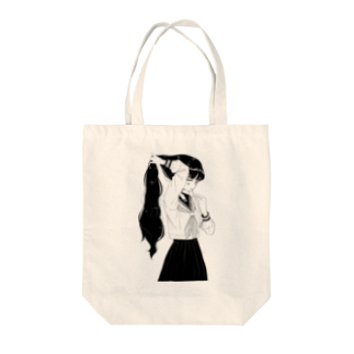 ⁰෴⁰ shopの結う Tote bags