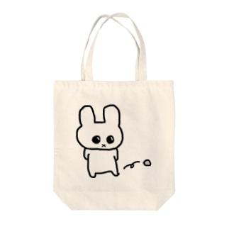 ちぇっ Tote bags