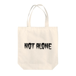 NOT ALONE / 1st series Tote bags