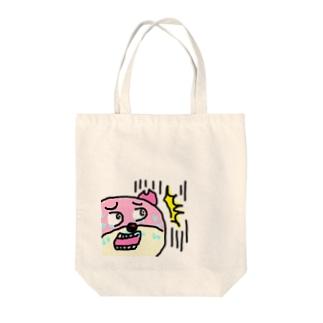 ガーン! Tote bags