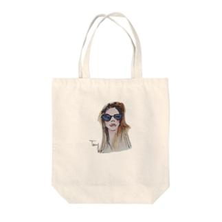サングラス Tote bags
