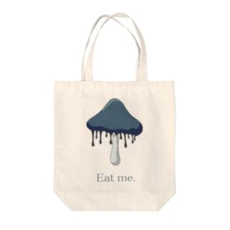 ヒトヨタケ Eat me. Tote bags