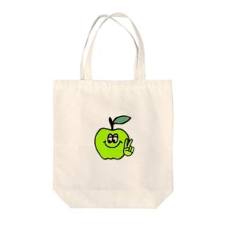 アオリンゴ 🍏  Tote Bag