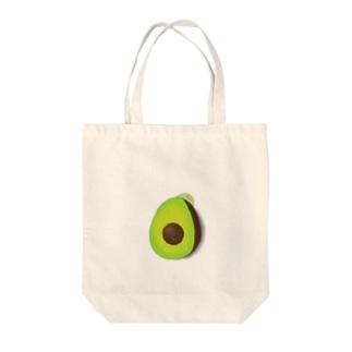 森のButterアボカド(改) Tote bags