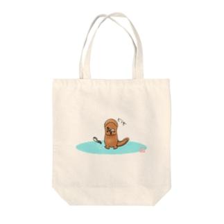 ドウゾ( ´∀`)つ Tote bags