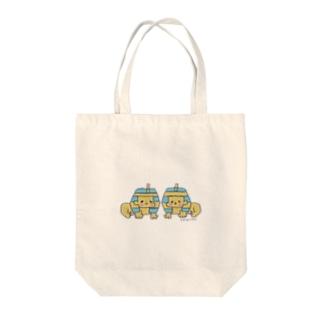阿吽のスフィンクス Tote bags
