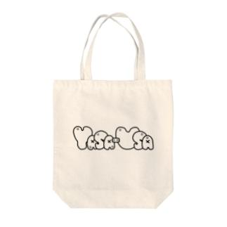 やさうさ「ろご」 Tote bags