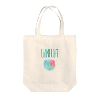 OKINAWA[イルカ] Tote bags