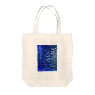魚群 Tote bags