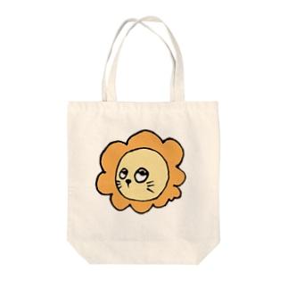 らいおんちゃん Tote bags