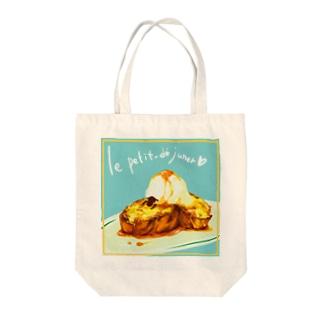 フレンチヒツジ Tote bags