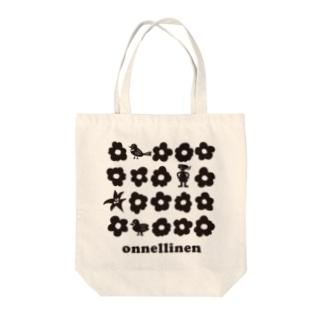 koko_ha_shop. onnellinen Tote bags
