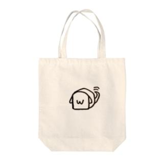 パン犬 Tote bags