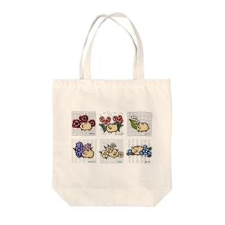 春の花 Tote bags