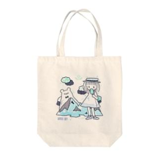シロクマと女の子 トートバッグ