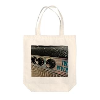 ギターアンプB Tote bags