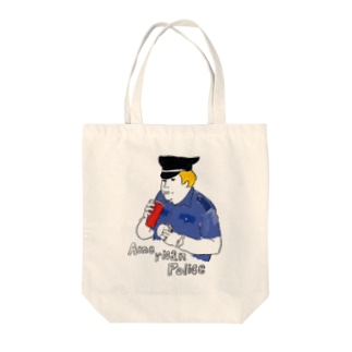 American Police Tote bags