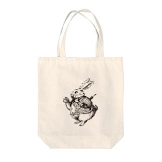 白うさぎさん Tote Bag