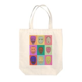 すゑのnoh mask Tote bags