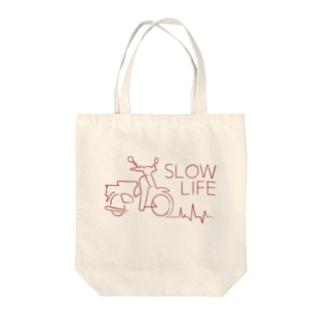 Cubシルエットデザイン Tote bags