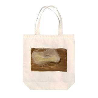 悲劇のカルボナーラ Tote bags