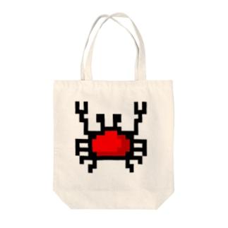 カニアイコン Tote bags