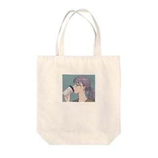 珈琲時間 Tote bags