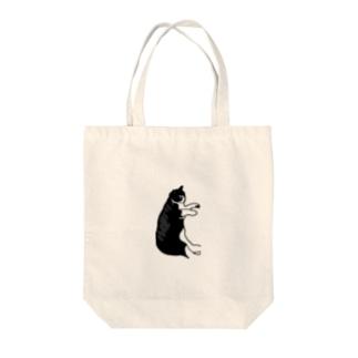黒と白の猫 Tote Bag