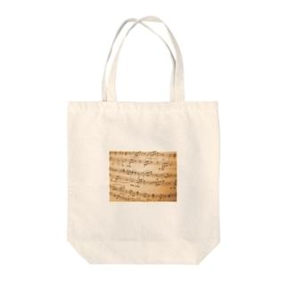 譜面 Tote bags