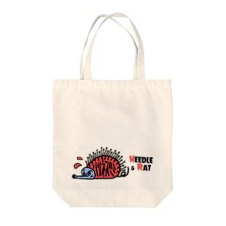 ハリとネズミ Tote bags