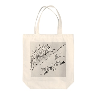 BIG WAVE Tote bags
