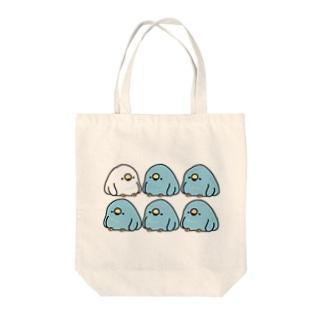 電線でぐちぐち言うTORI Tote bags