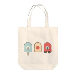 アイス・パン・ブーブ Tote bags