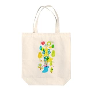 Summer Girl Tote bags