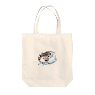 ビーダマムシ・青 Tote bags