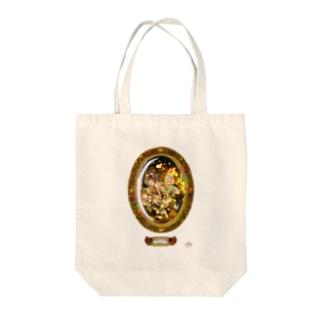 妖精入り琥珀 Tote bags