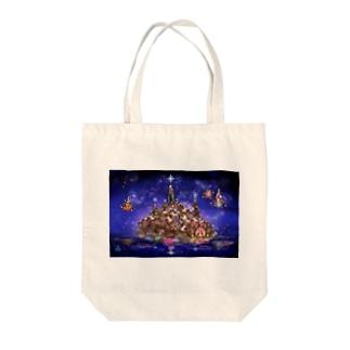 水晶聖堂 Tote bags