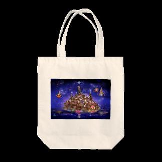 ∞Secret Crystal Garden∞の水晶聖堂 Tote bags