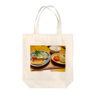 親ご飯 Tote bags
