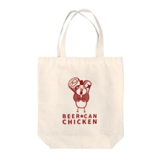 ビア缶チキン Tote bags