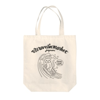 猫と小判 Tote bags