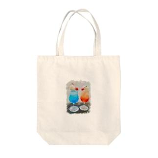 夏-クリームソーダ- Tote Bag