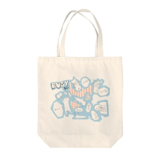 Busy星人 Tote bags